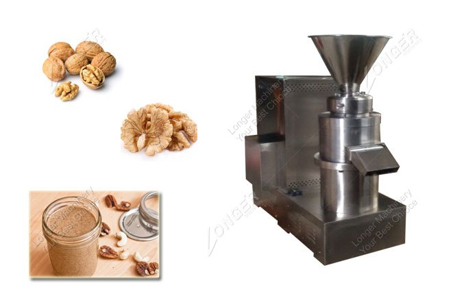 Walnut Butter Grinder