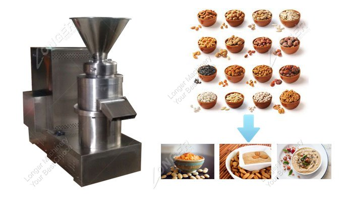 Walnut Butter Grinder Making Machine