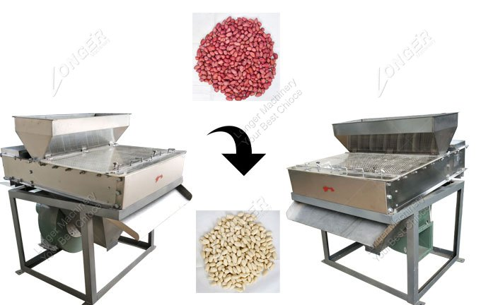 Peanut Dry Peeling Machine for Sale