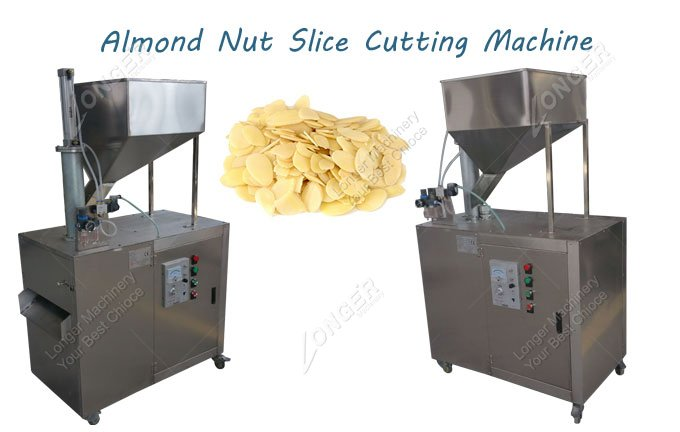 Commercial Almond Nut Slice Cutting Machine