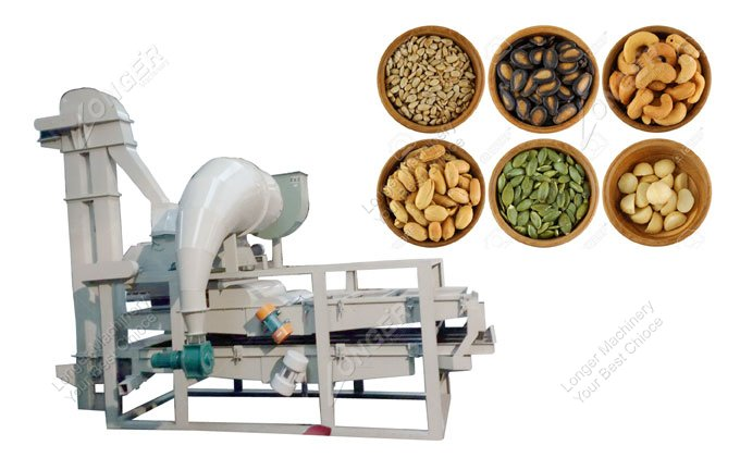 Automatic Pumpkin Seed Dehuller Melon Seed Shelling Machine