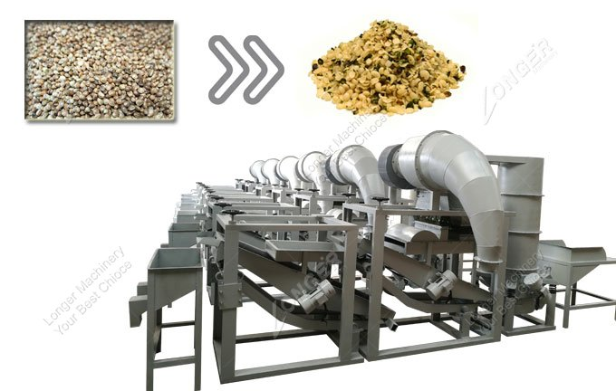Hemp Seed Peeling Machine