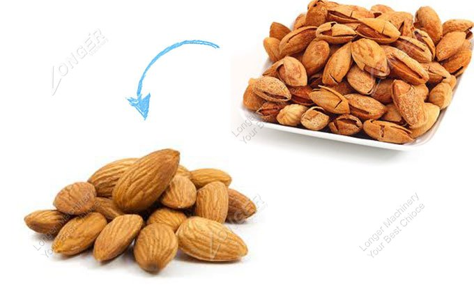 almond cracking machine price