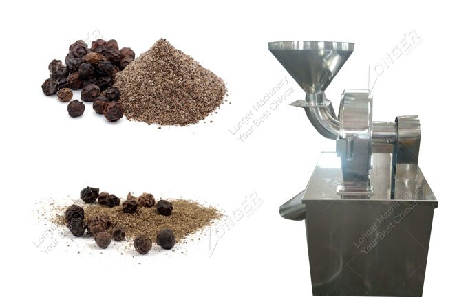 Black Pepper Grinding Machine