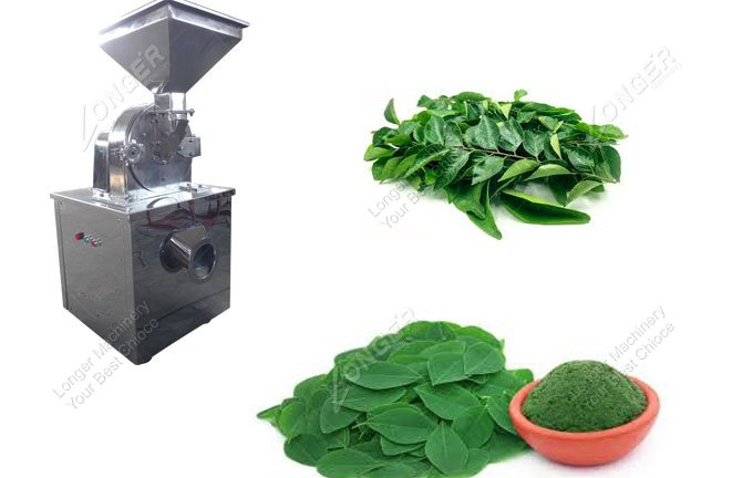Moringa Leaf Grinding Machine