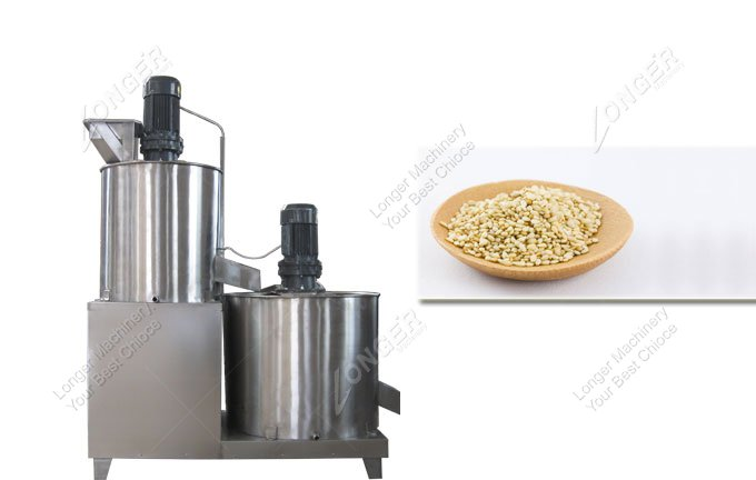 price of sesame peeling machine in china