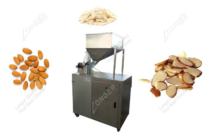 Almond Flake Cutting Machine Good Cut Shape
