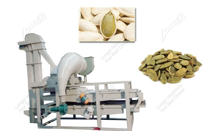how are pumpkin seeds shelled commercially