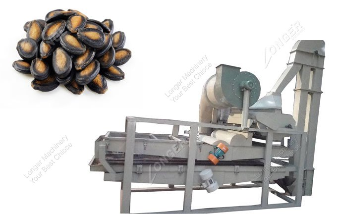 design and construction of melon shelling machine