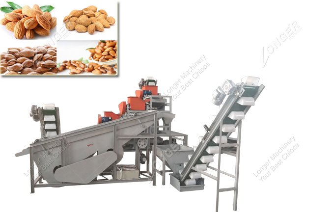 Almond Shell Processing