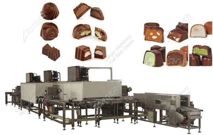 Efficiency Chocolate Depositing Machine