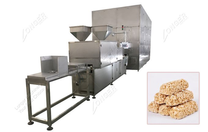 Oatmeal Bar Chocolate Making Machine