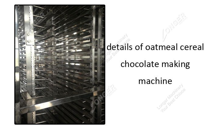 Oatmeal Cereal Chocolate Making Machine