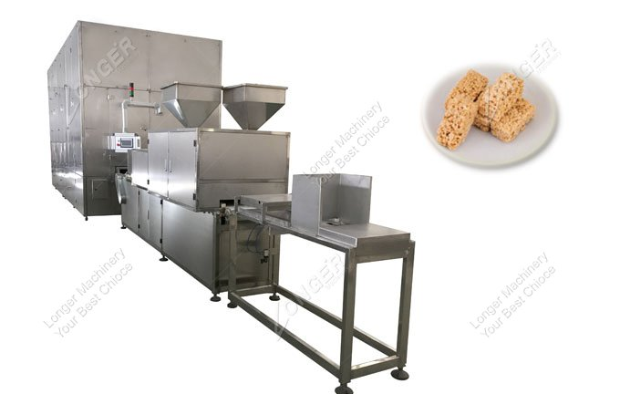 Full Automatic Oatmeal Cereal Bar Chocolate Making Machine